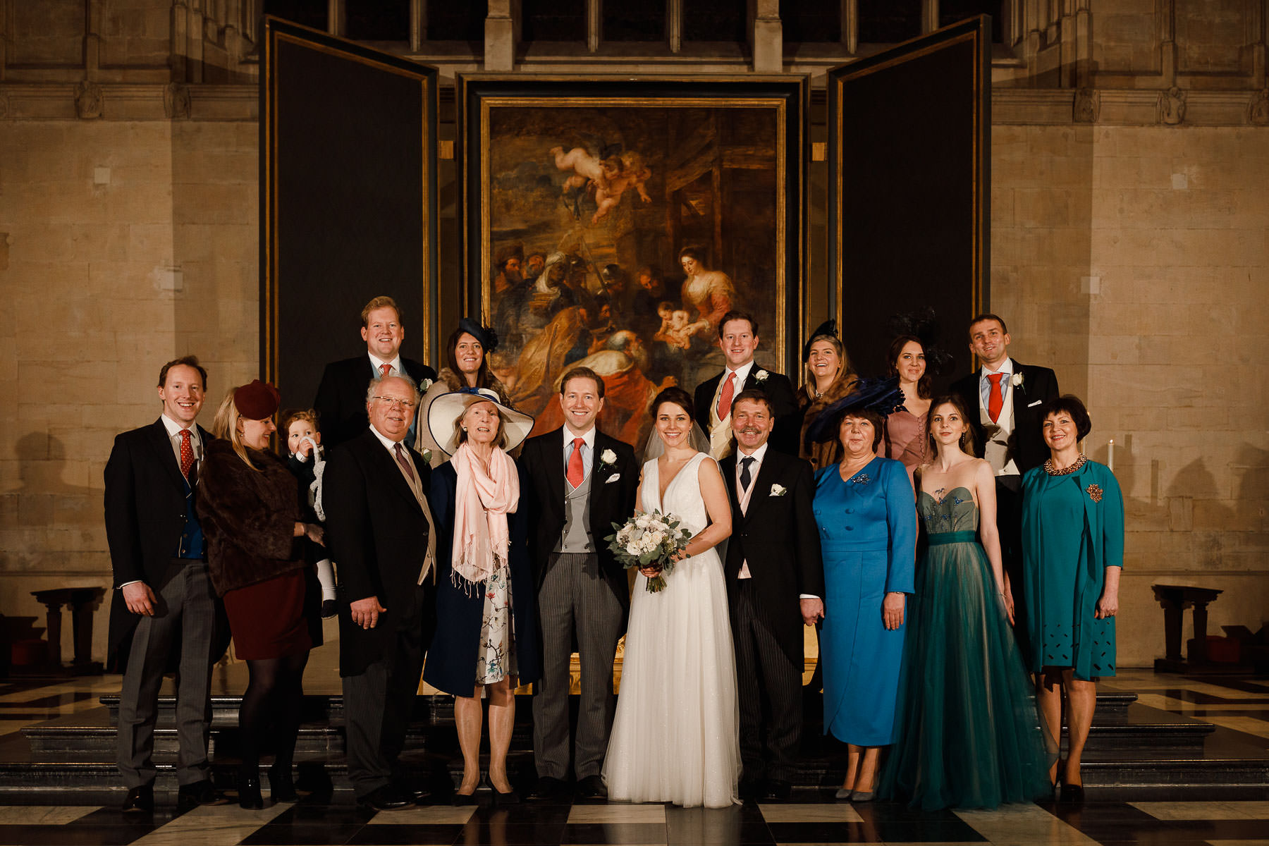 Kings Collage Cambridge Wedding Photographer